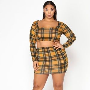 2 piece Attendance Skirt Set